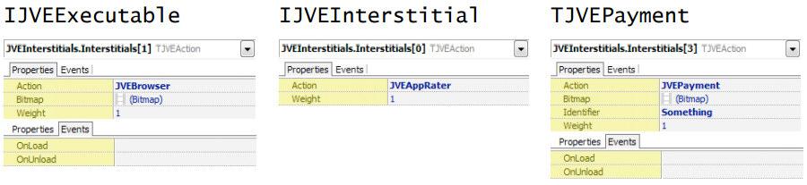 IJVEExecutable IJVEInterstitial TJVEPayment
